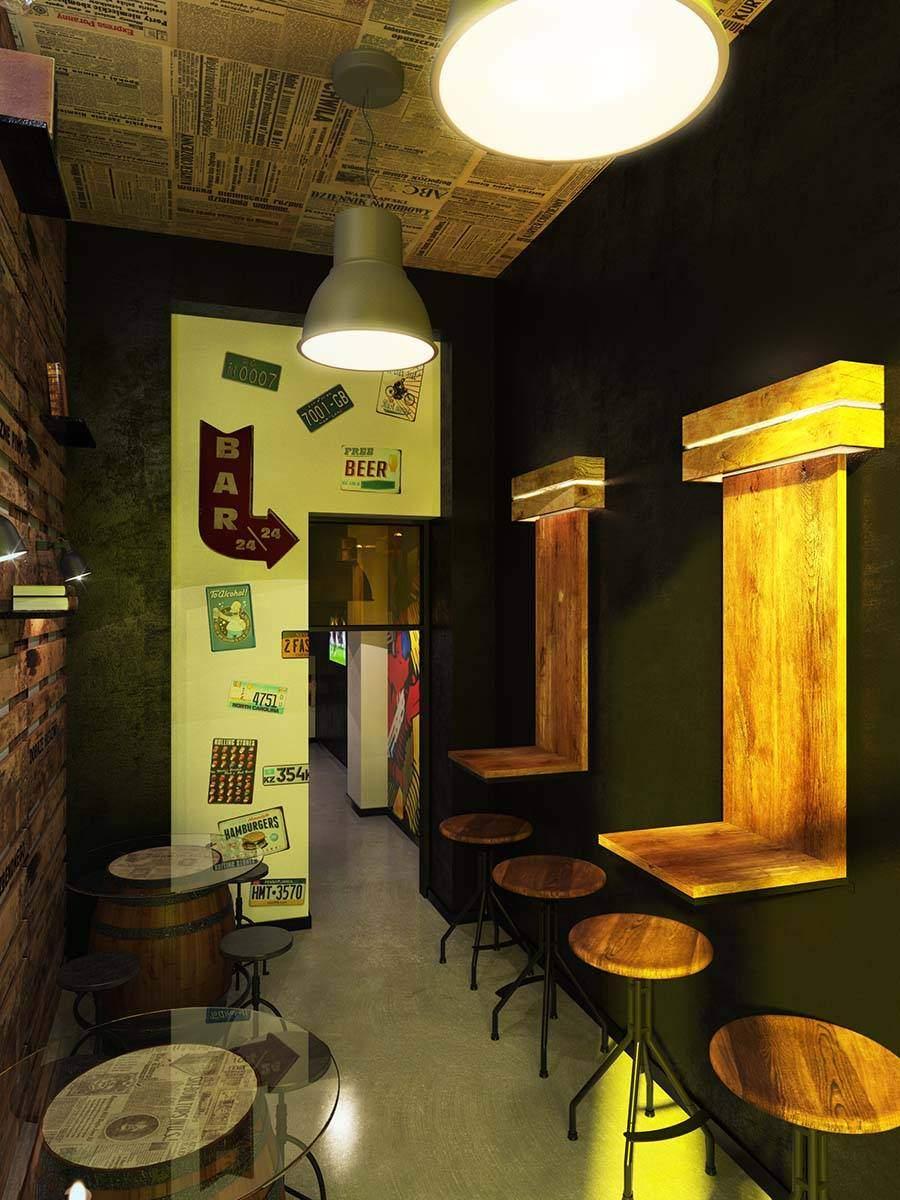 Магазин-бар в Варшаве