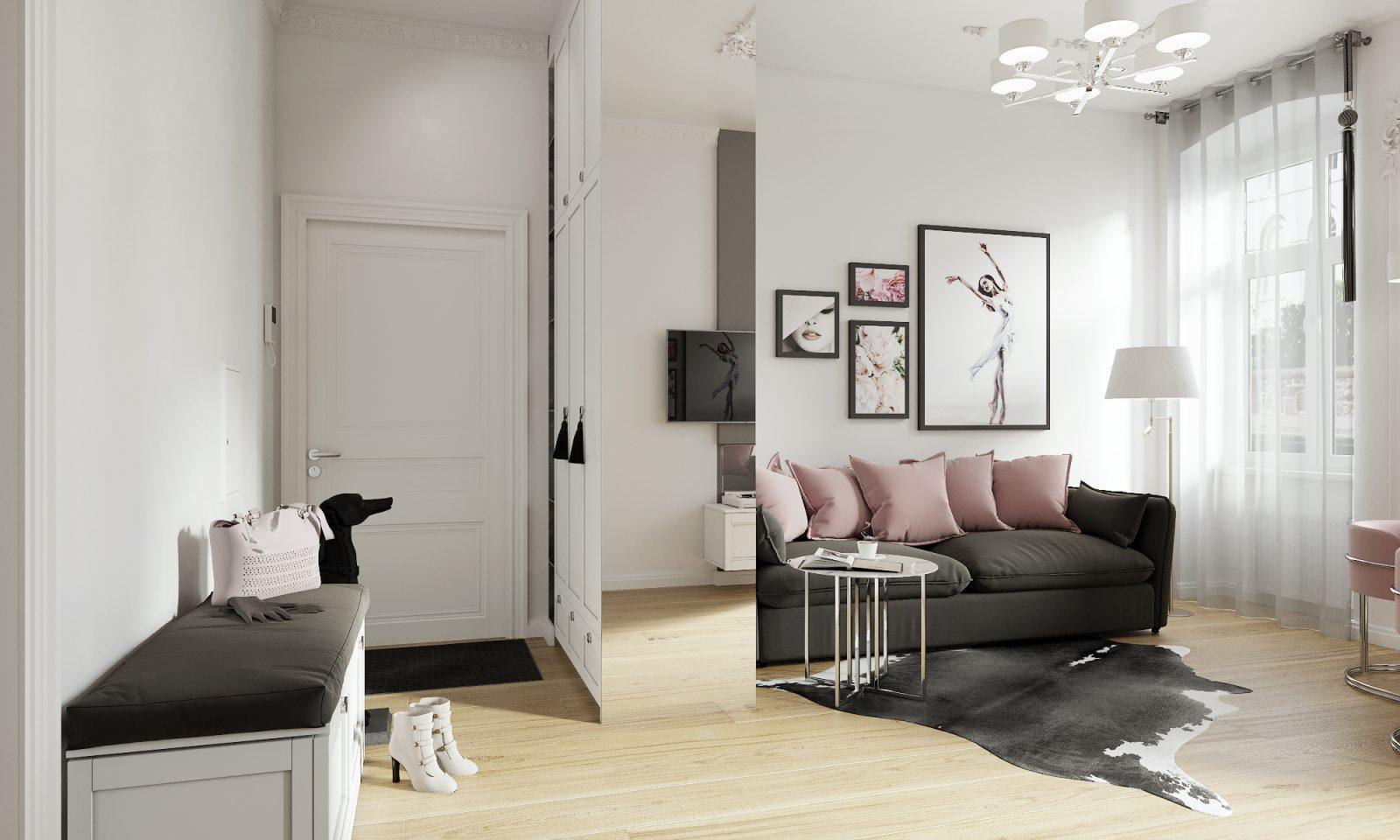 Двухкомнатная квартира в Германии