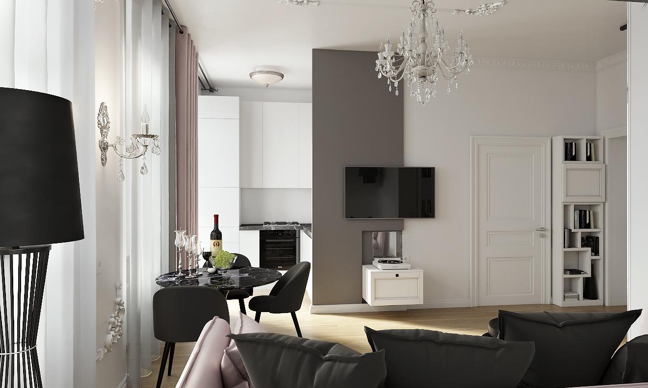 Двухкомнатная квартира в Германии 2 вариант
