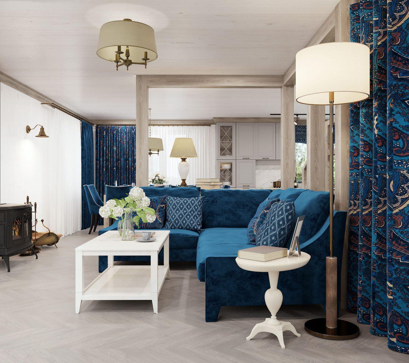 Дом в стилизованном провансе